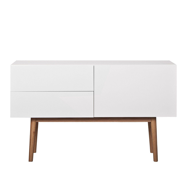 Wundervoll Sideboard Für Küche Galerie Von Zuiver 4100005 High On Wood 2dr 1do