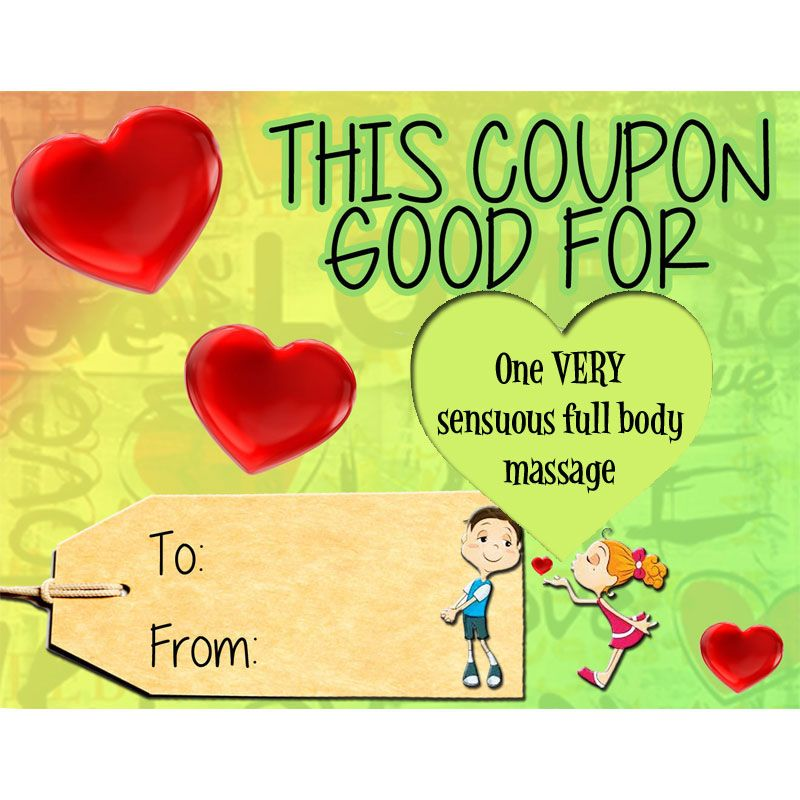 Coupon One VERY sensuous full body massage