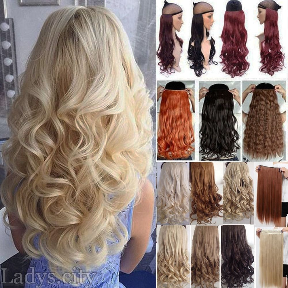 100 Real As Remy Human Hair Clip In New Full Head Hair Extensions
