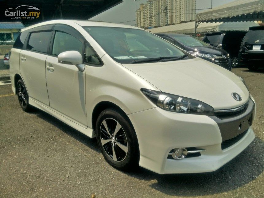 Toyota Wish 2012 S 1 8 In Kuala Lumpur Automatic Mpv White For Rm