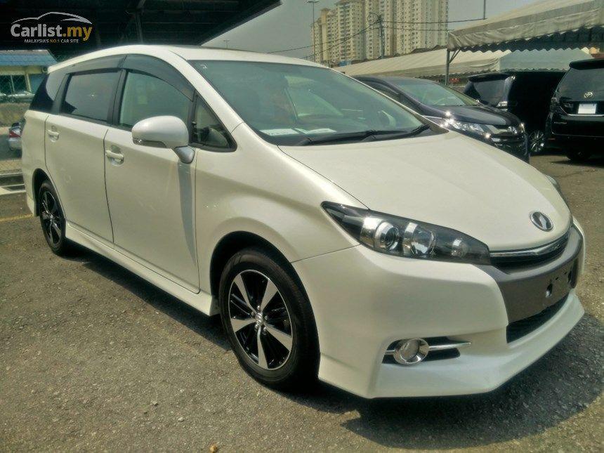 2012 Toyota Wish 1.8 S FACELIFT UNREG SUNROOF , 7 SEATER | Toyota ...