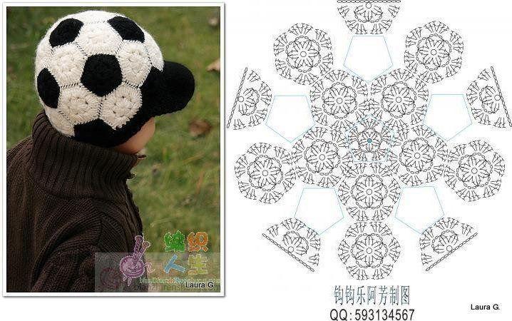 Gorra balon de fútbol | Cosas para ponerse | Pinterest | Fútbol ...