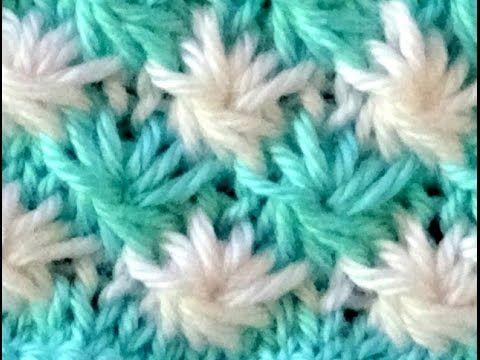 Cómo Tejer Punto ROPA BEBÉ #14 How to Knit a BABY STITCH 2 Agujas ...