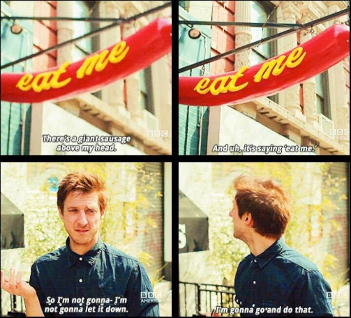 Arthur Darvill. He is so great. XD @Hannah Mestel Moffat Loki Moriarty McManus