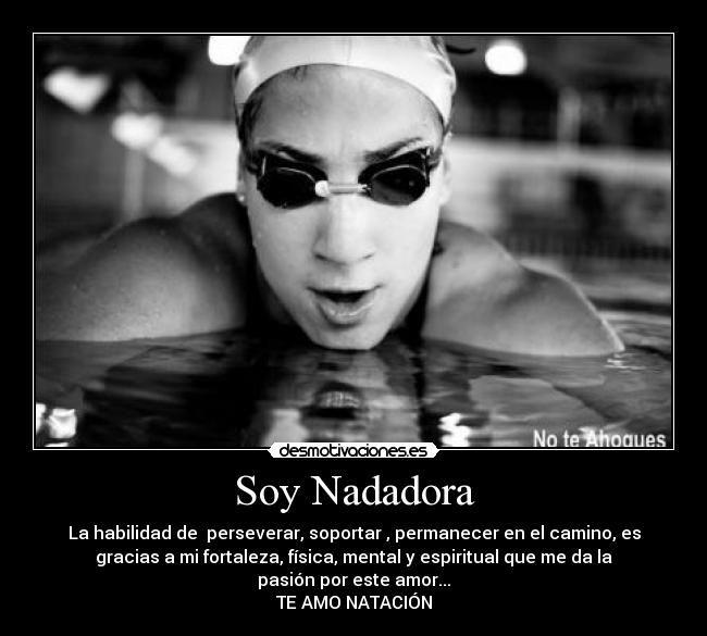 Carteles Natacion Desmotivaciones Natación Frases Nadador