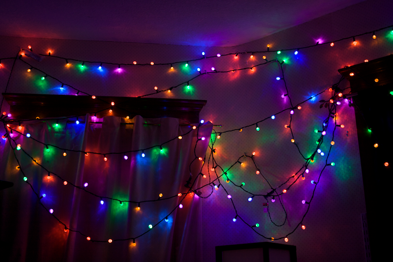 Great LED Christmas Lights Come In A Compete Selection Of Rainbow Colors.