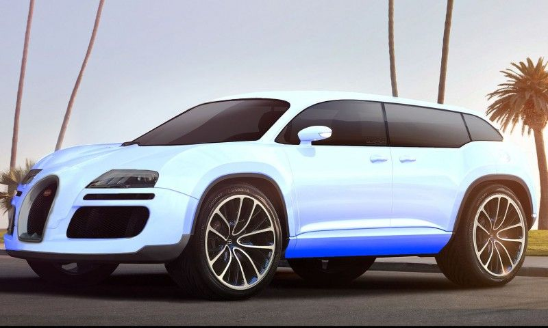 Charmant RENDERED RUMORS: Bugatti Galibier Back In Pipeline As 2017 Super SUV! Car  Revs Daily