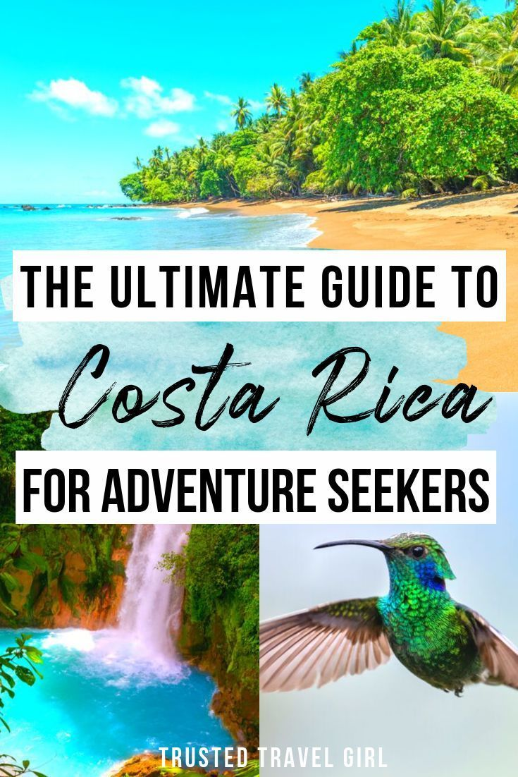 Costa Rica: For Nature Lovers & Adventure Seekers — Trusted Travel Girl