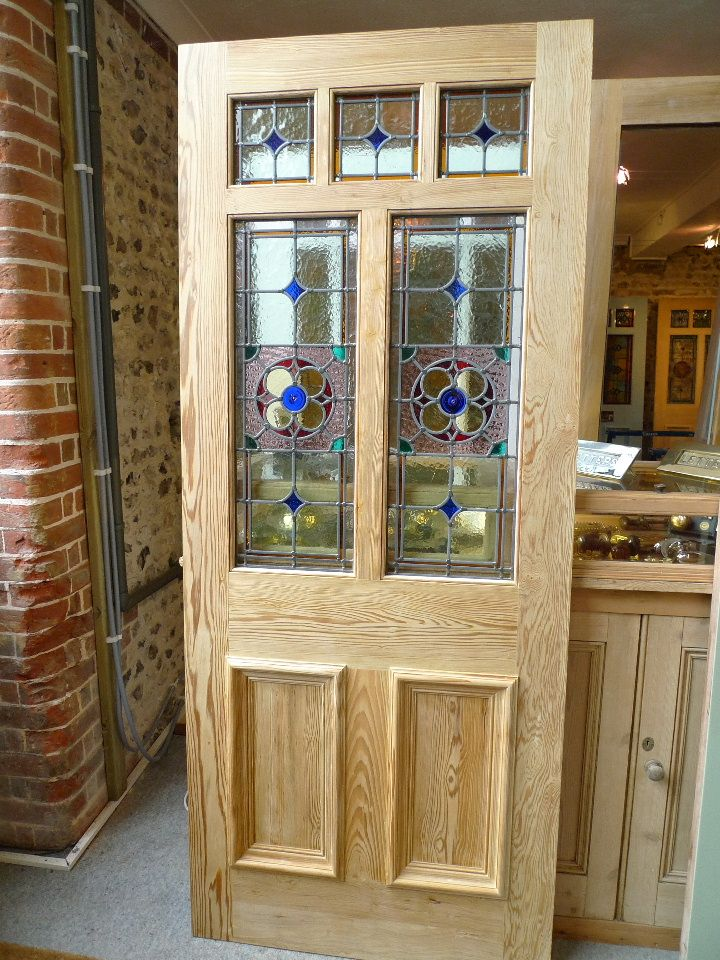 Image Detail For Victorian Style 7 Panel Stained Glass Front Door