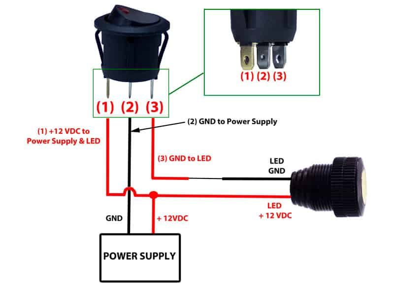 125v Toggle Switch Wiring Diagram