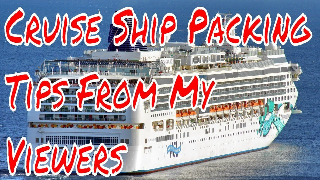 Its About Cruise Ship Vacation Packing Tips My Viewers Share - Cruise ship tricks