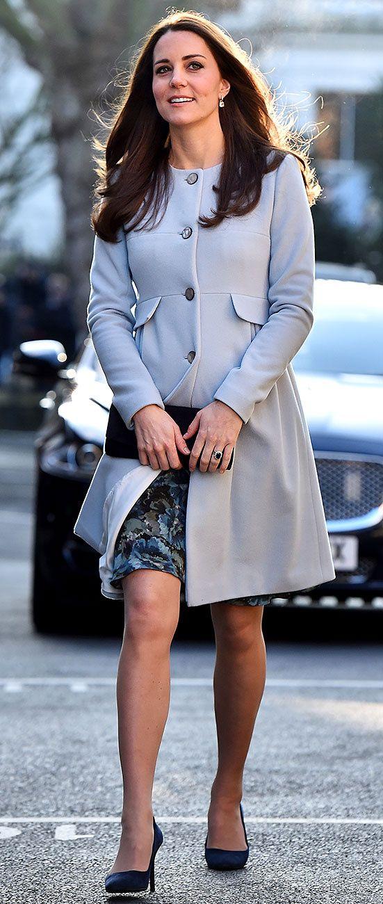 f980fdda8ac74 La Duquesa de Cambridge en Seraphine | Kate | Kate middleton ...