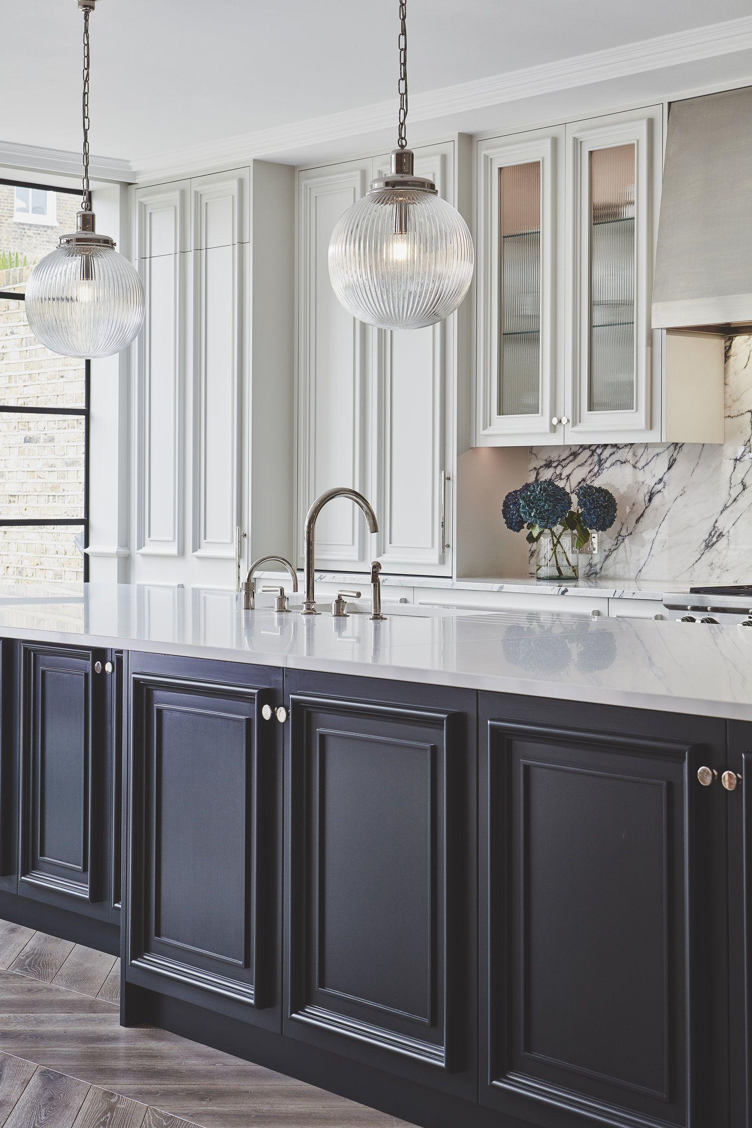 Sudbrooke Blakes London Glass Kitchen Cabinets Glass Kitchen Cabinet Doors Black Kitchen Cabinets