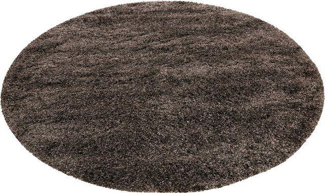Hochflor Teppich Live Nature Rund Hohe 55 Mm Weiche Haptik