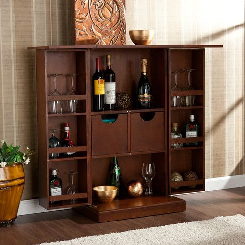 Found It At Wayfair Boswell Bar Cabinet With Wine Storage Bar Cabinet Mini Bar Home