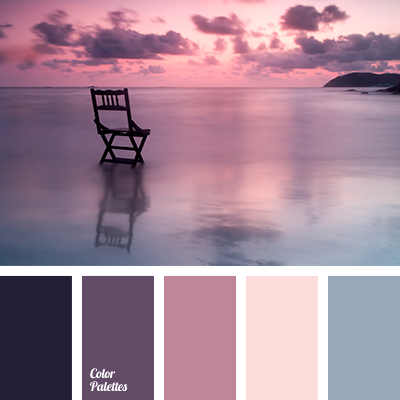 Shades of purple fit well into the interior of rooms, the walls of ...