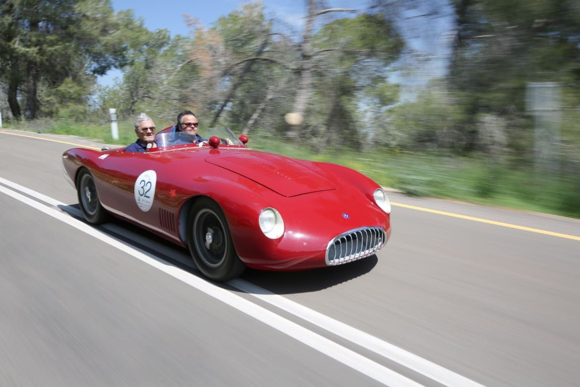 Holy Land 1000 Tour 2015 Report And Photos Old Sports Cars