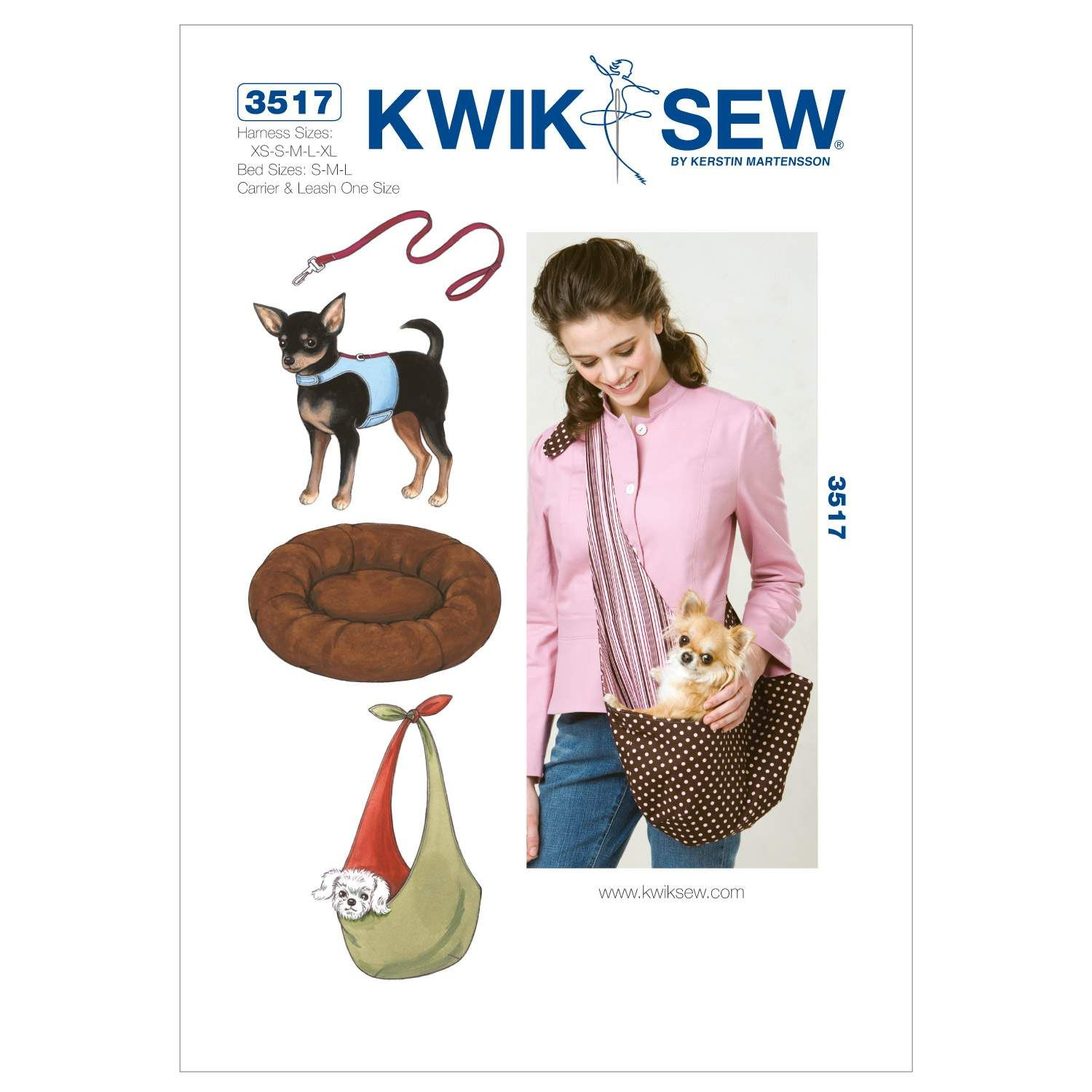 Kwik Sew Crafts Pets-K3517 | Pinterest