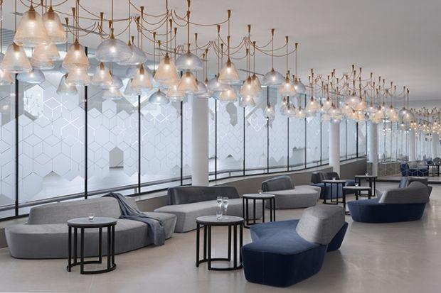Hilton Schiphol Airport Netherlands Lounge Interiors Lounge