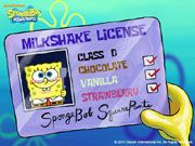 spongebob's license