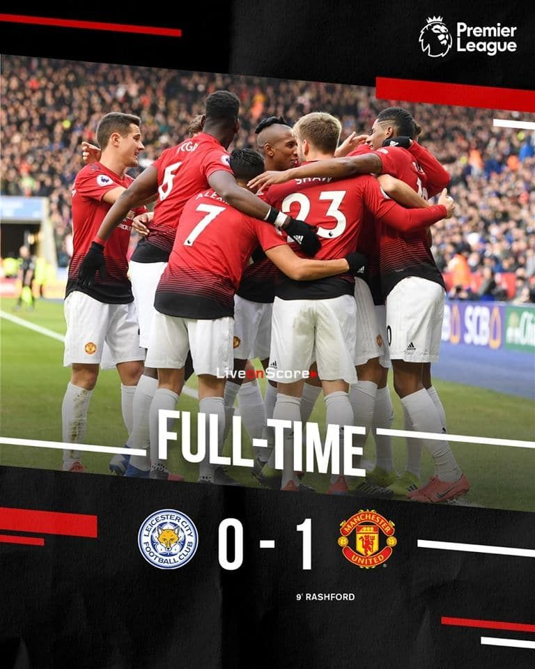 Leicester City 0 1 Manchester United Full Highlight Video Premier League 2019 Manchester United Manchester United Football Club Manchester United Football