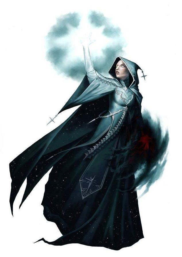 female illumination wizard pathfinder pfrpg dnd d d d20 fantasy