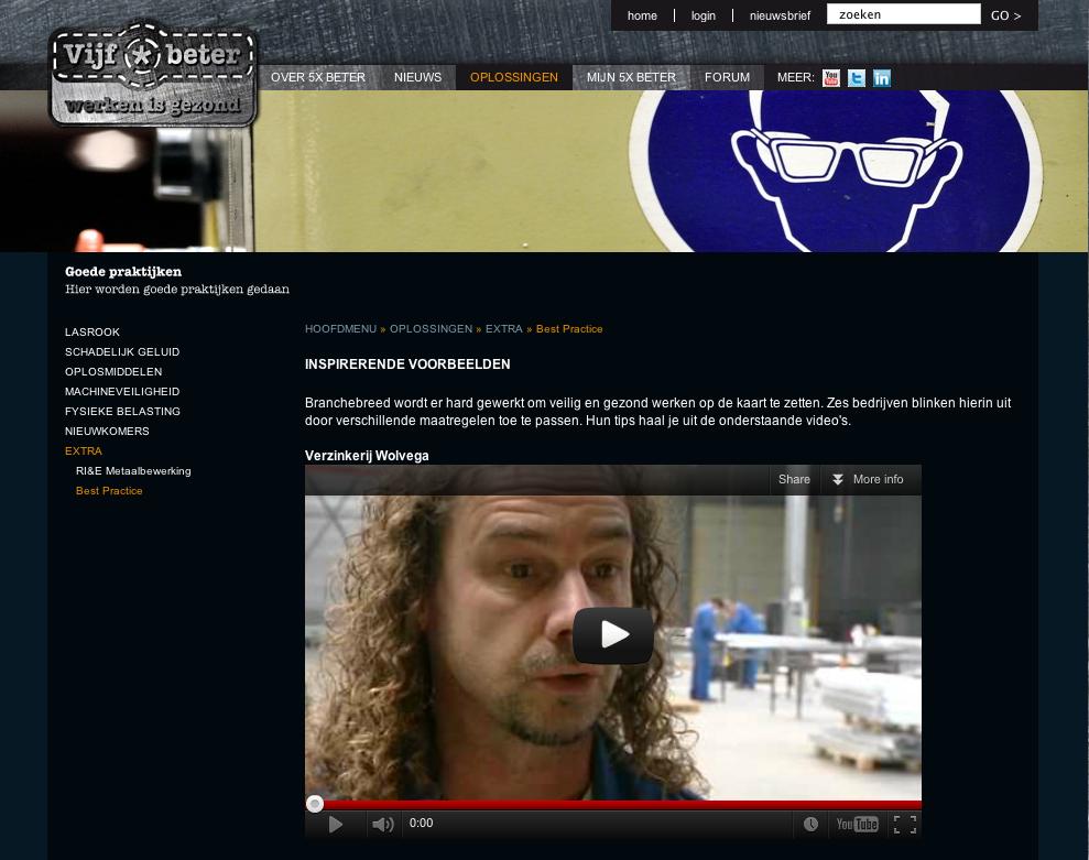 Website NL'se arbo campagne 5x beter