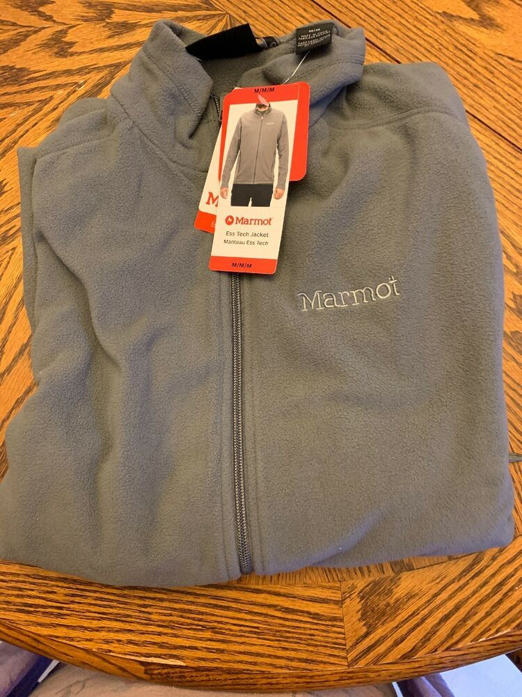 Details about NEW! Marmot Men's Ess Tech Jacket Full Zip