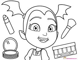 Image Result For Spring Vampirina Print Coloring Pages Bmnh