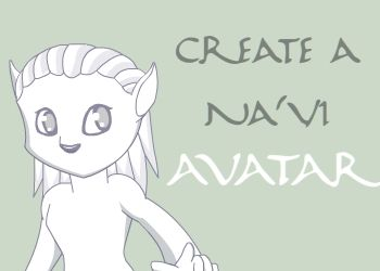 Create a Na'vi Avatar by Khalypso deviantart com on