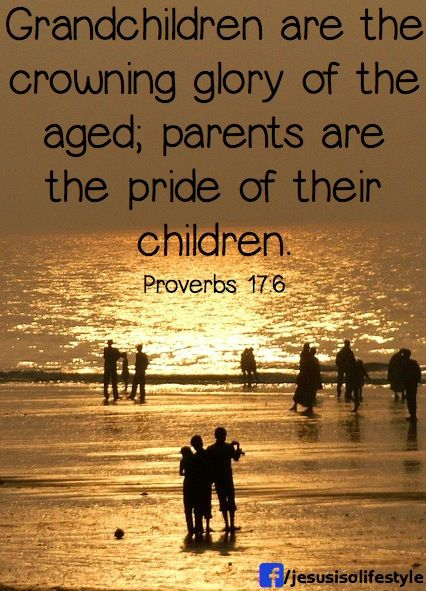 bible verses about grandchildren and grandparents relationship