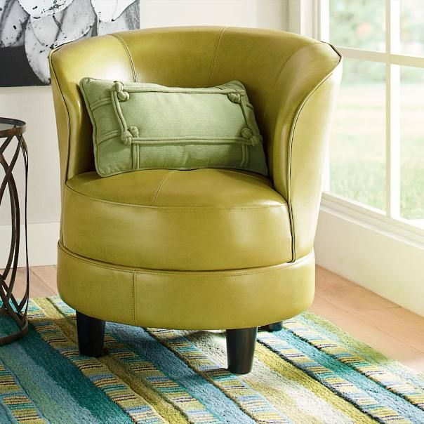 Rebecca Swivel Chair Leather And