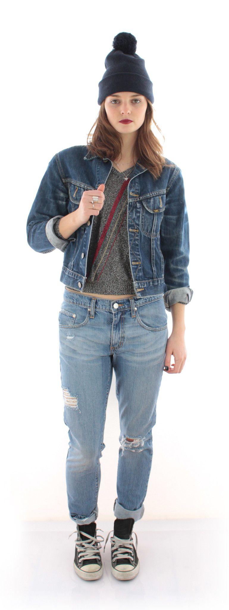 Vintage Lee Denim Jacket | HOWL & HORN www.howlandhorn.com