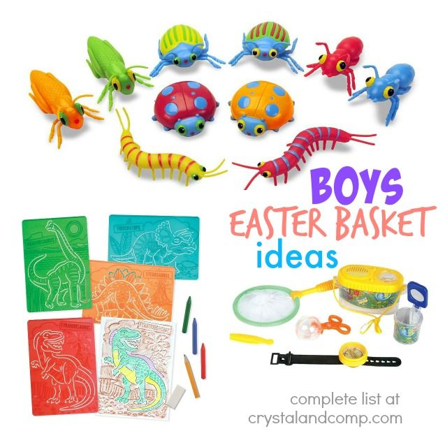 25 candy free easter basket goodies for boys easter baskets 25 candy free easter basket goodies for boys negle Images