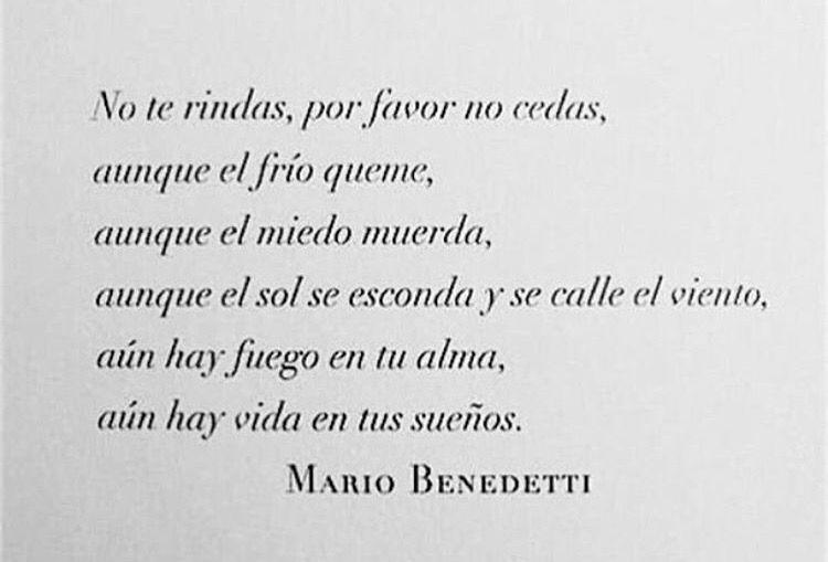 #Benedetti #NoTeRindas