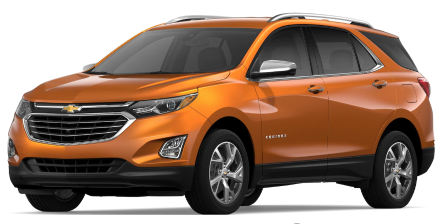 2019 Chevrolet Equinox Color Options Chevrolet Equinox Chevy