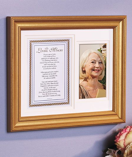 Loving Memory Frame | ABC Distributing - Getting this for mama ...