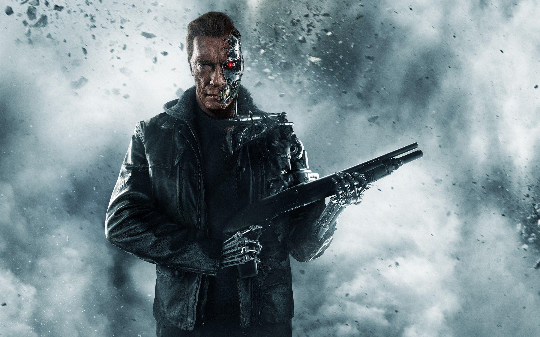 Terminator Genisys Full Hd Background 2880x1800