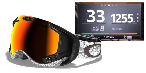 Oakley Goggles With Gps
