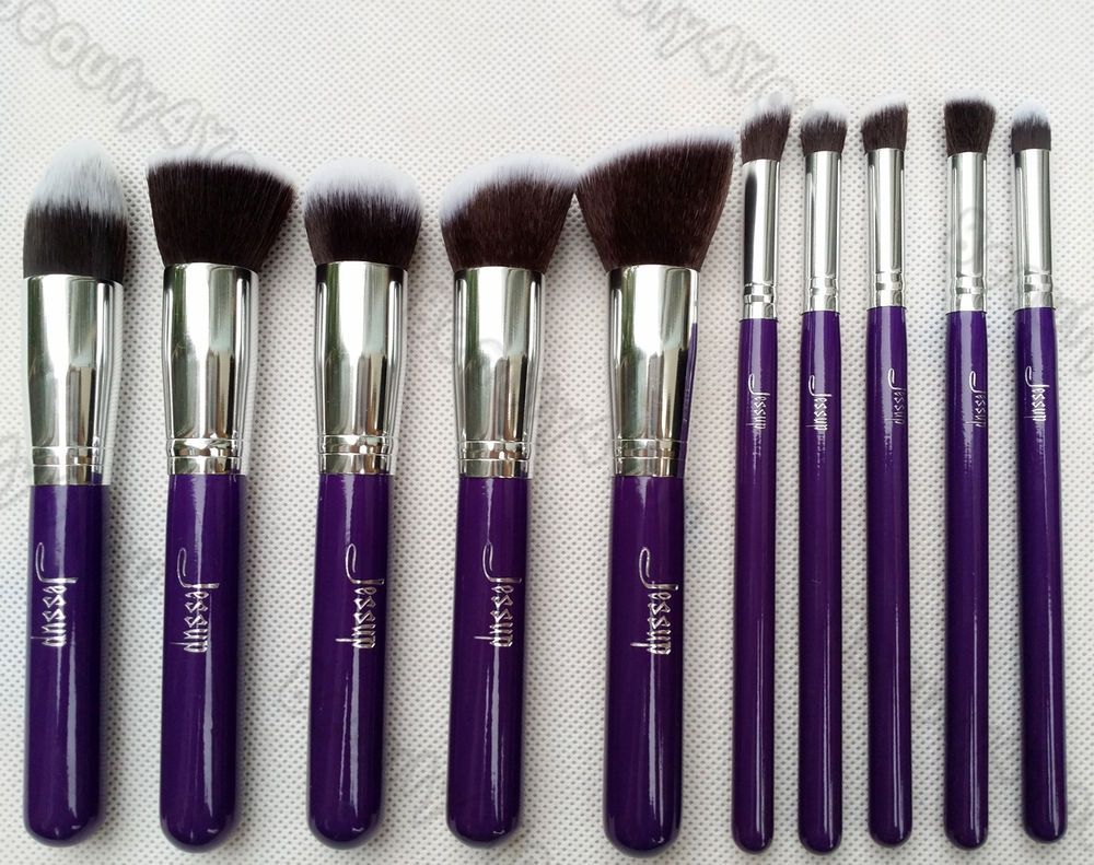 Premium Synthetic Kabuki Makeup Brush Set Cosmetics