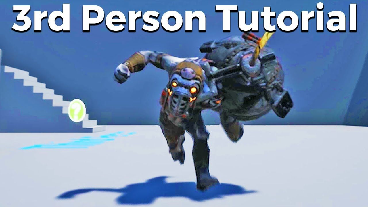Let's Create A 3rd Person Character With Animations - Blueprints #14
