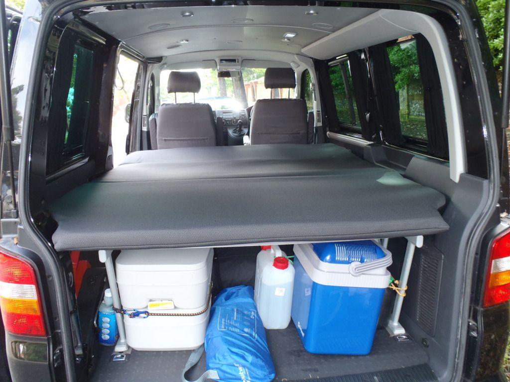 vw t5 camper full width bed - Google Search | van life | Pinterest