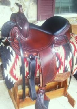 Dixieland Gaited Saddles, Custom Gaited Saddles for the Walking
