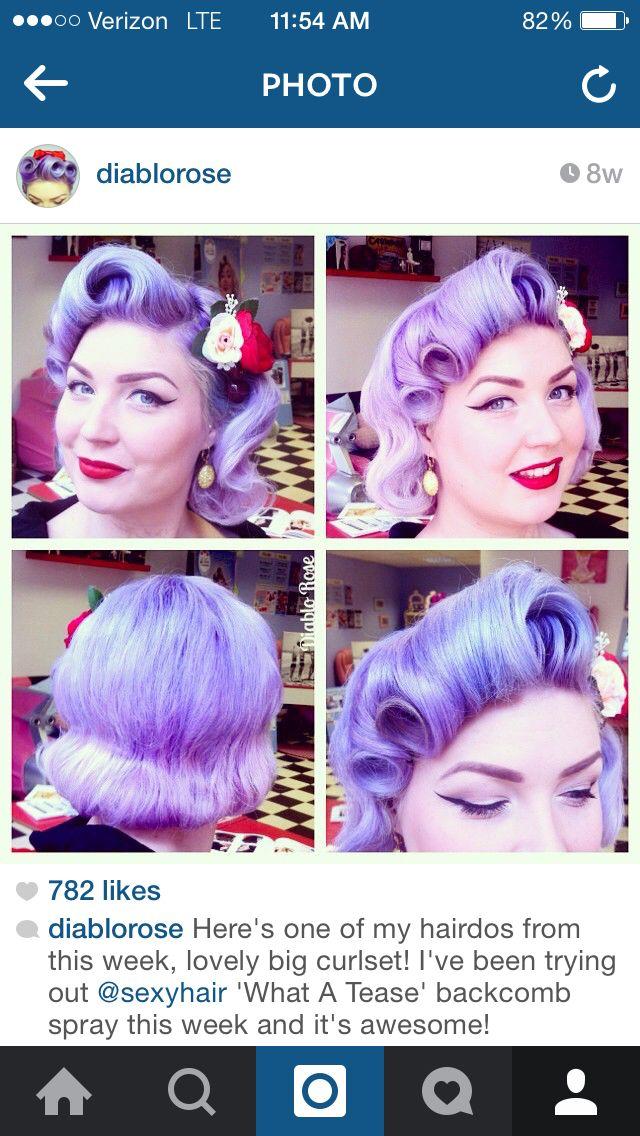 That hair!!!