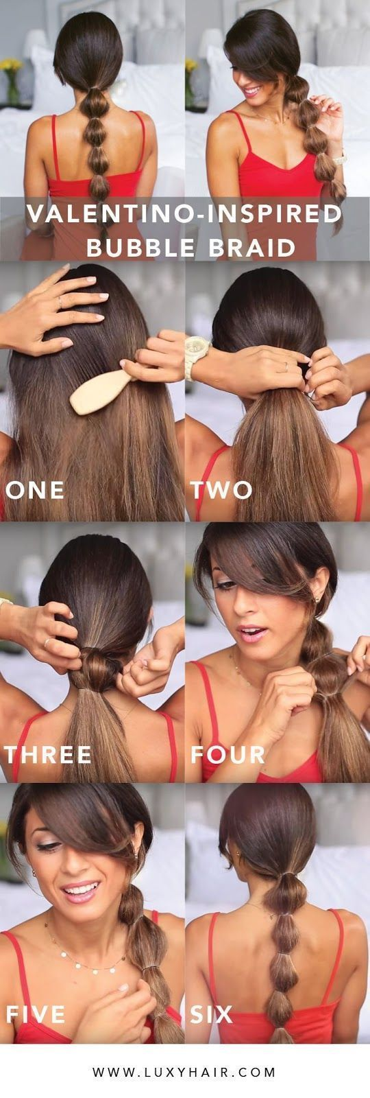 Bubble braids! Photos and Video tutorials! #bubble Braids tutorial #bubble Braids tutorial