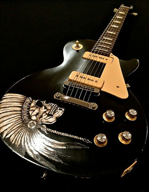 Gibson Les paul Custom Design by Reclaimed Guitar Co the \