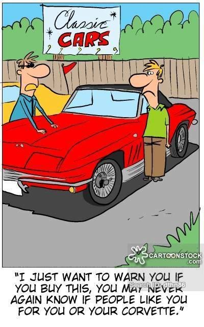 Ford Dealership Dallas >> Is it me our my Corvette you like? | Corvette Cartoons ...