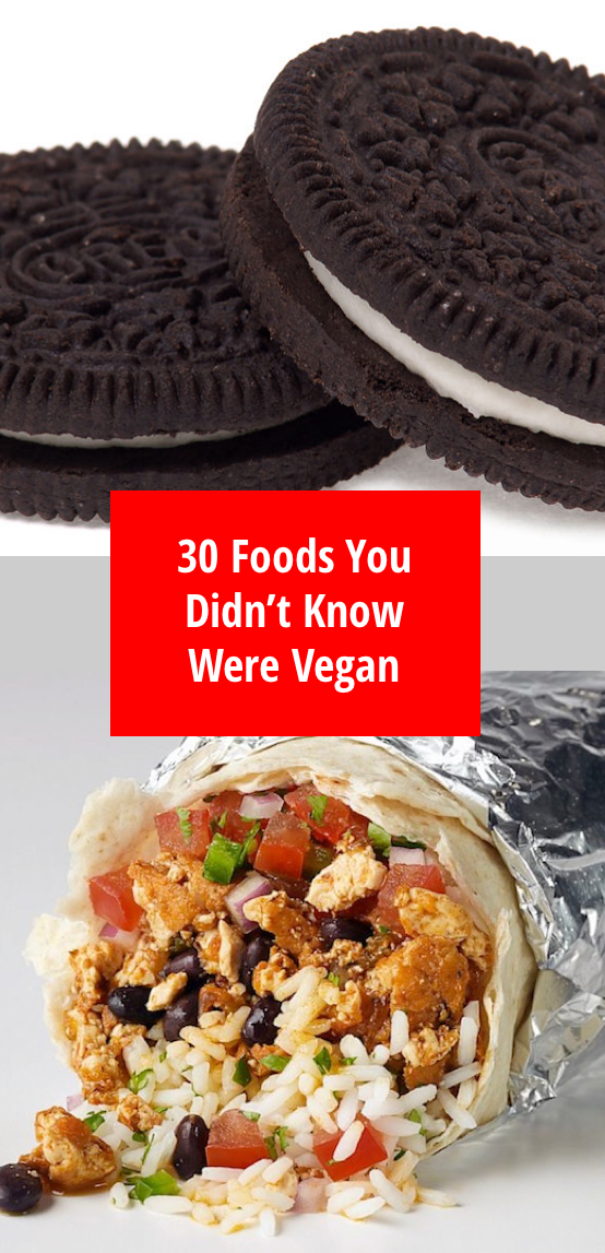 Photo of 30 Foods You Probably Didn't Know Were Vegan
