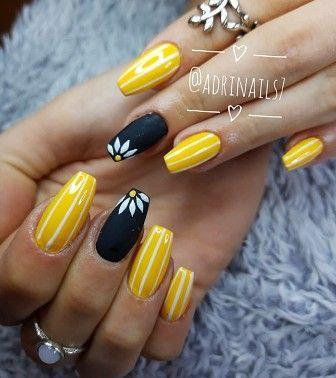 Gelbe Nägel sind die aufregendste im Frühjahr. Wenn Sie mir nicht glauben, auf diese Nägel aussehen