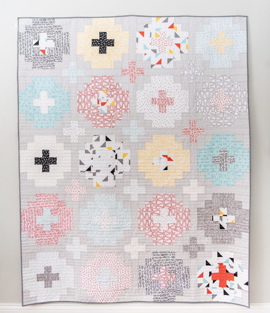 Cross Tile PDF Quilt Pattern | Fat quarters, Patterns and Crafty